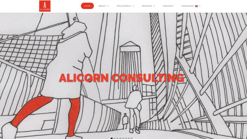 Sito in cinese - Alicorn